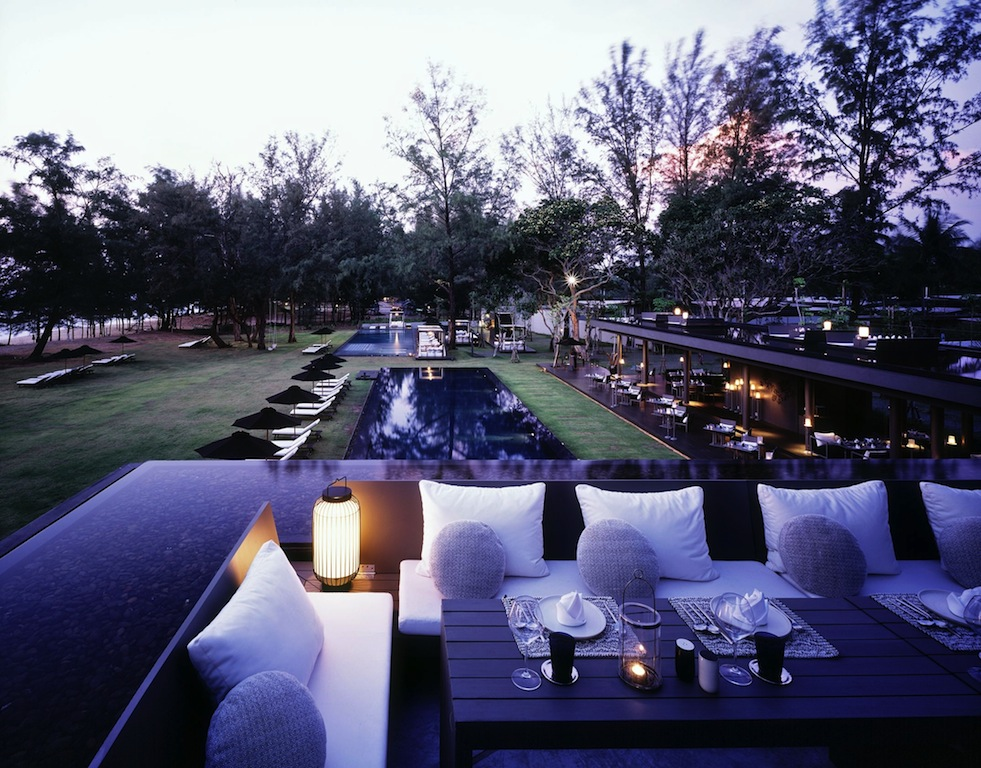 Sala Phuket Resort And Spa Rooftop Dining Yacht