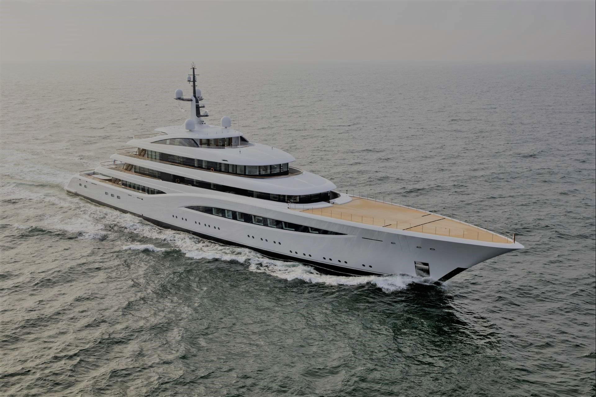 Feadship Superyacht Vertigo On Sea Trial Yacht Charter