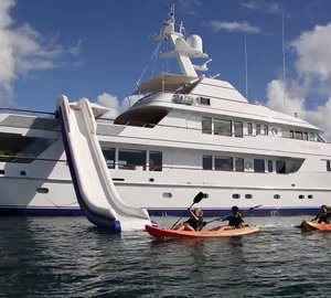 Luxury yacht TELEOST in Costa Rica and Panama in 2017