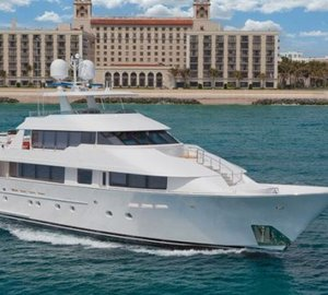 Luxury charter yacht CHASING DAYLIGHT is heading to Mexico