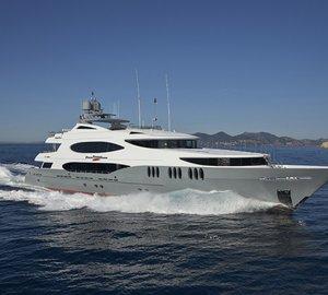 Christmas in the Bahamas on ZOOM ZOOM ZOOM luxury yacht charter