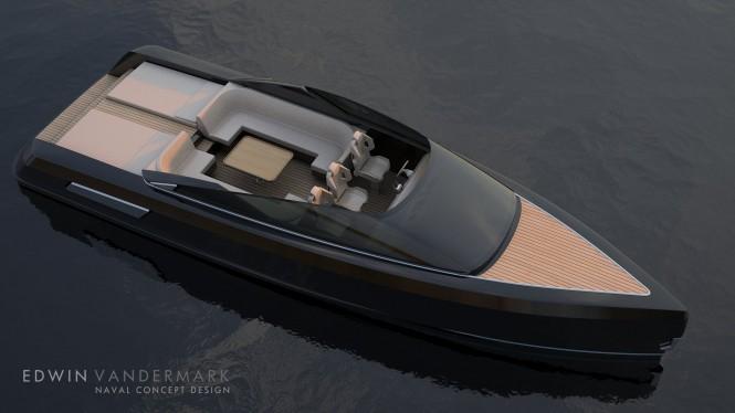 12m/40ft tender. Image credit: Virgin Concept Yachts Monaco