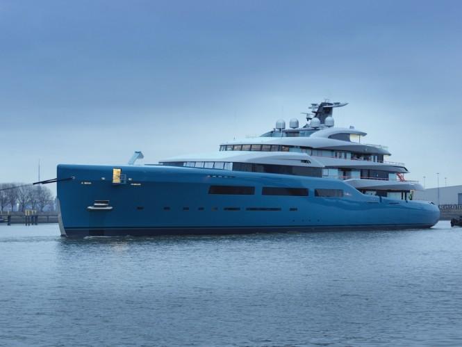 98m mega yacht AVIVA