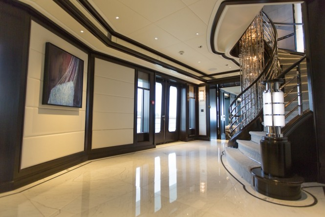 Luxury yacht AQUILA - New interior