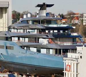 Abeking & Rasmussen to Launch 98m Superyacht AVIVA
