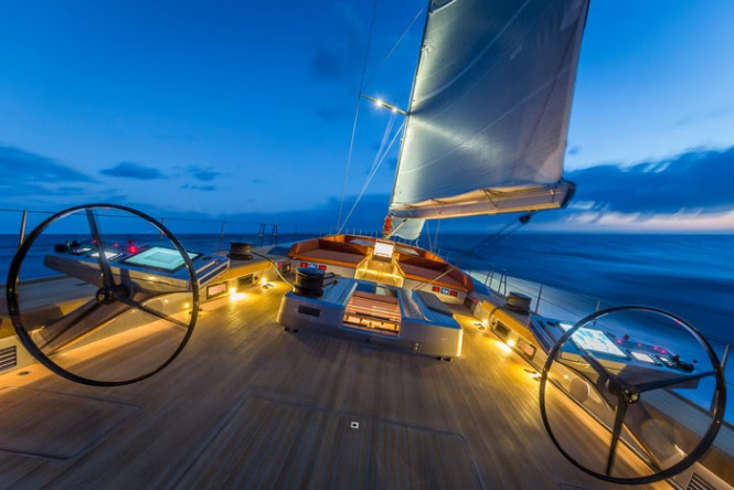 Baltic Yachts carbon composite sloop - (Photo credit to Baltic Yachts)