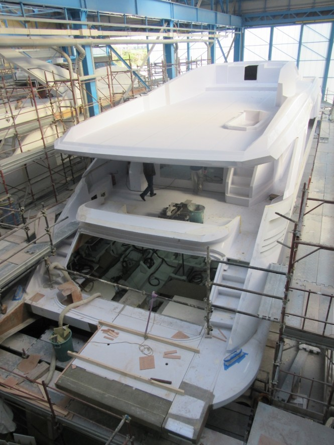 Amer 110 Nearing completion