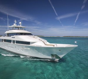 Grab a bargain beauty: M/Y Amitié available for Caribbean charter this April