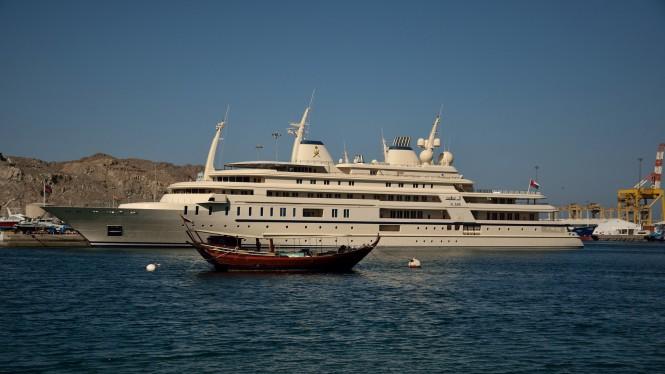 Mega Yacht Al Said. Photo by Flickr/Jerry Clark