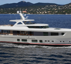 Mulder Shipyard is Building the Second 36m Superyacht
