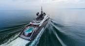 Superyacht OKTO. Photo credit Q&K