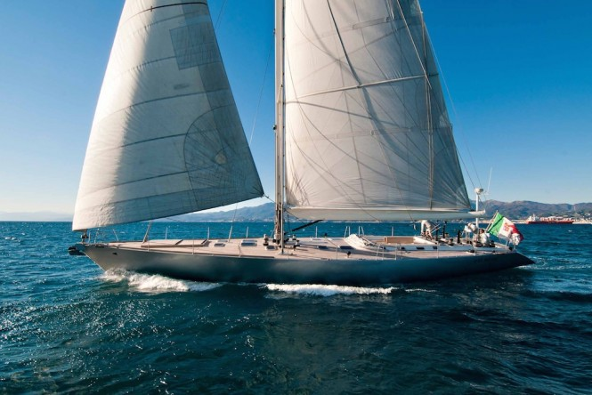 Sailing yacht TESS by Mag France