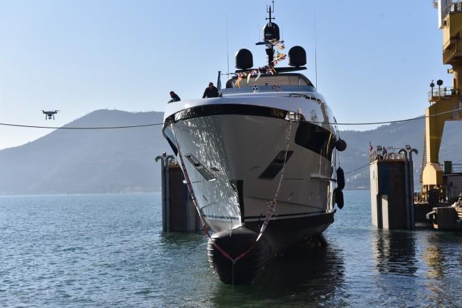 Sanlorenzo 52Steel SEVEN SINS launch
