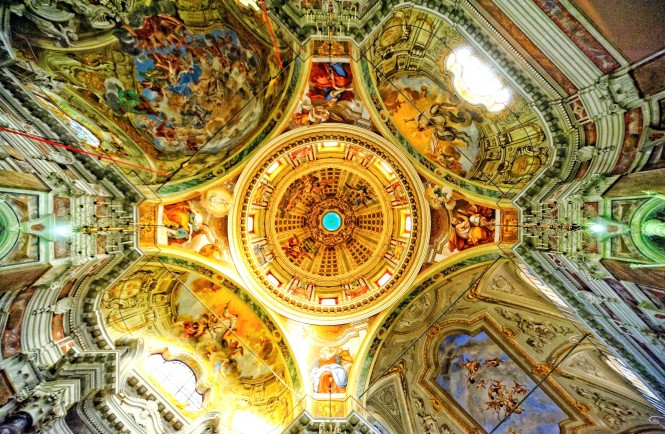 Sanremo Cathedral - Ceiling