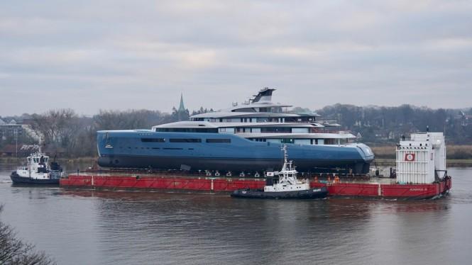 Superyacht aviva pre launch