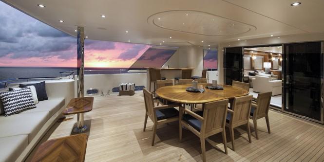 Motor yacht FAR NIENTE -   Alfresco dining