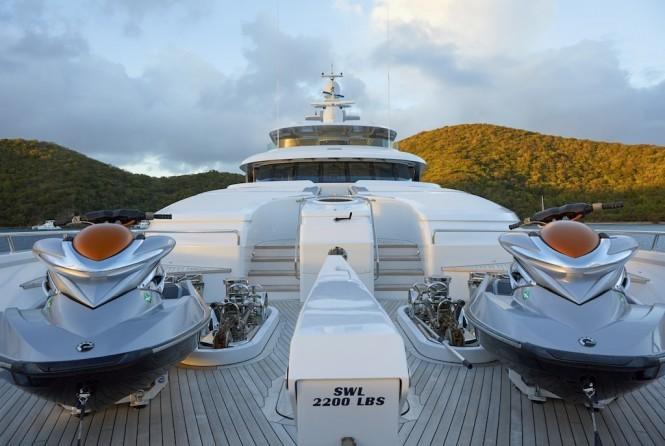 Charter Yacht Victoria Del Mar. Photo by David Churchill