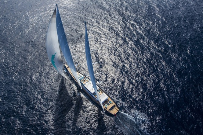 Sailing Yacht Aquijo. Photo by Stuart Pearce