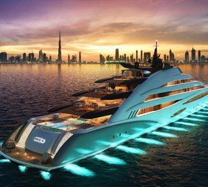 """Oceanco unveiled the 120m """"Resort"""" Yacht AMARA at the DIBS 2017"""