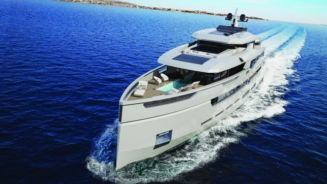 Sarp Yachts. Concept Aouda by Hot Lab. Photo courtesy of Sarp Yachts
