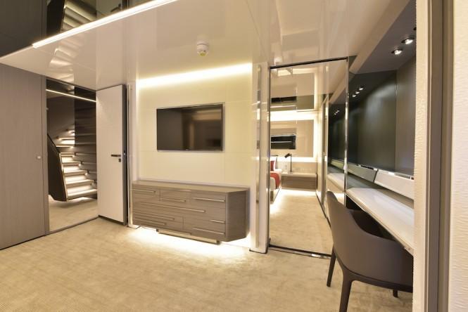 Arcadia A100 interior hull 1