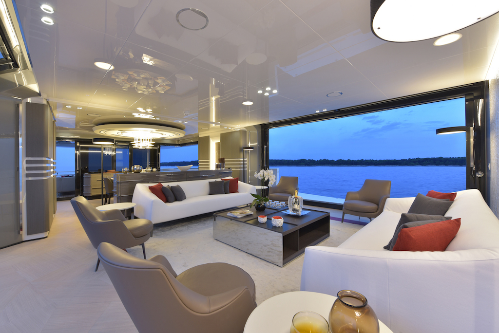 Arcadia interior styling yacht charter superyacht news for Interieur styling