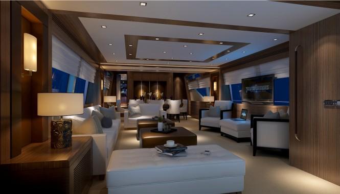 Heysea Yachts Asteria - Main Salon