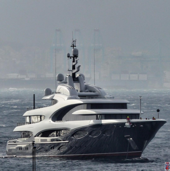 Barbara by Oceanco photo by @Superyachts_gibraltar