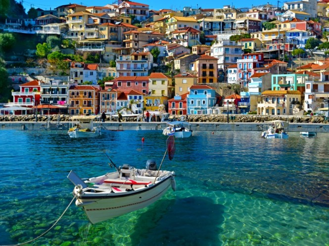 The colourful Ionian Island of Corfu