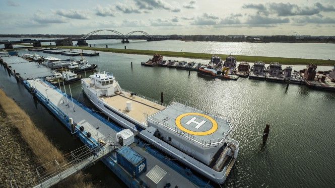 DAMEN Support vessel Game Changer
