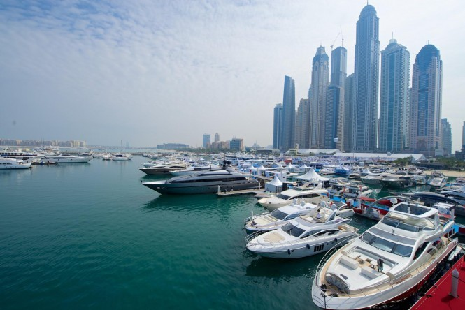 Dubai International Boat Show in the previous years