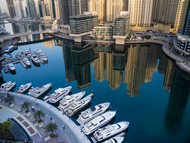 Dubai Marina photo by Rita Willaert
