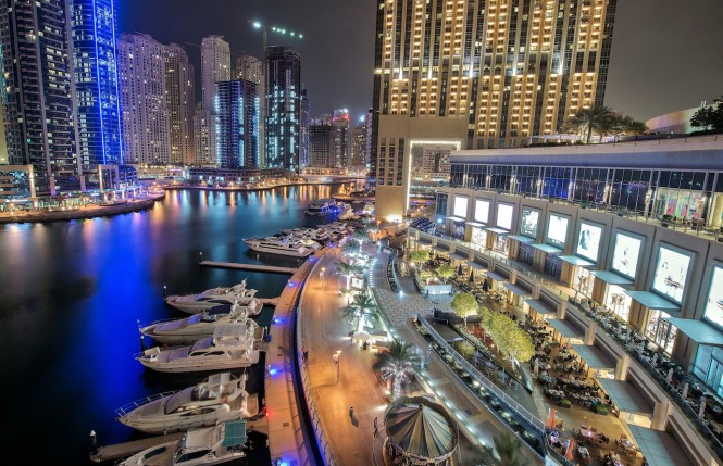 Dubai Marina. Photo credit Mattharvey1