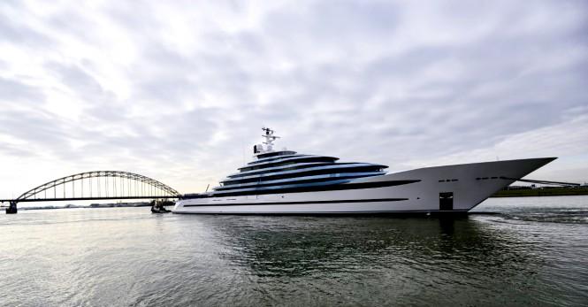 Superyacht Jubilee. Photo credit Francisco Martinez Photography