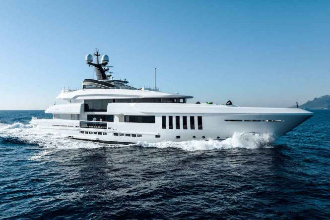 Superyacht OURANOS by Admiral