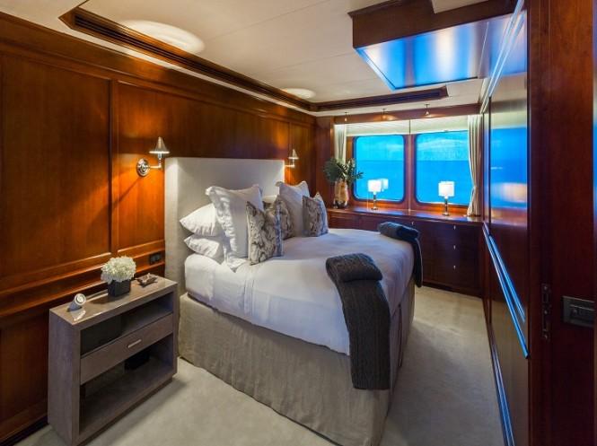 Superyacht PIONEER - Master suite