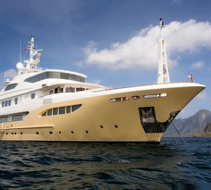 Charter stunning superyacht Jade 959 to your Mediterranean event this summer
