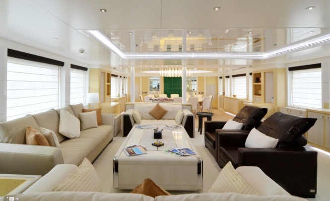 Main salon from Central Yachts