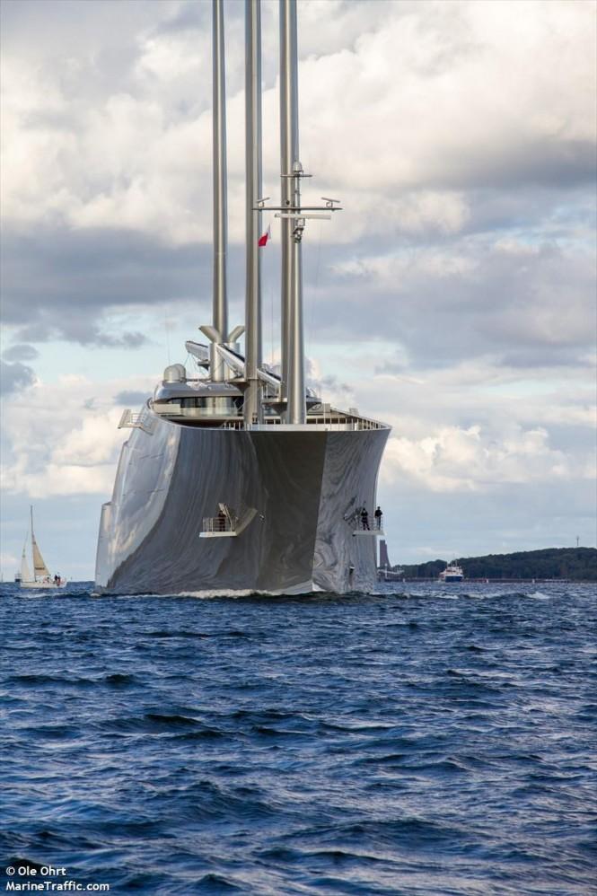 Sailing Yacht A. Photo by Ole Ohrt