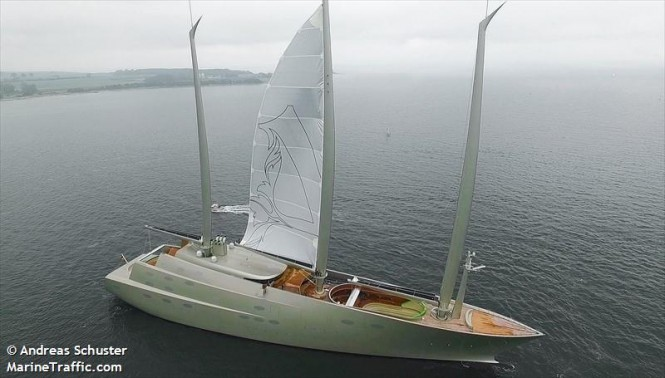 Sailing Yacht A. Photo by Andreas Schuster