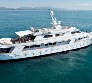 Charter the Eastern Mediterranean this summer aboard motor yacht Sirahmy