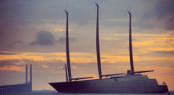 Sailing yacht A. Photo by @kristian_cph
