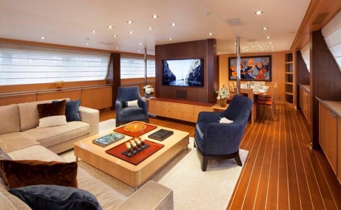 Sailing yacht VICTORIA - Main Salon by Cristiano Gatto