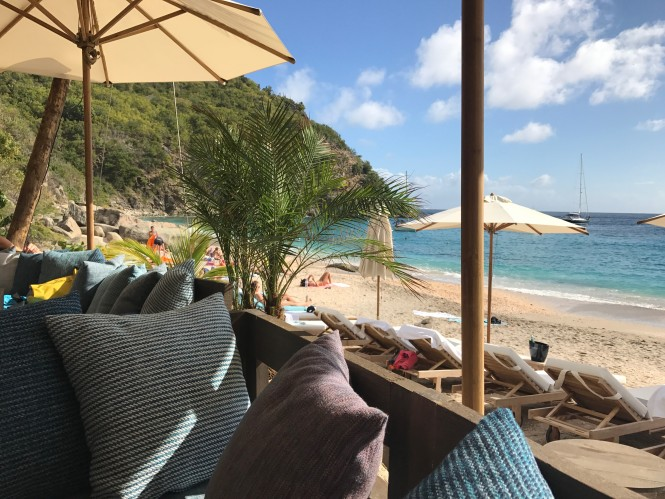 Shellona, Shell Beach, St Barths. Photo credit Roxanne Hughes
