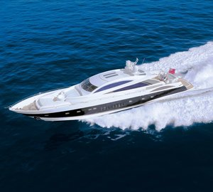 Swift superyacht Casino Royale available for Mediterranean charter events