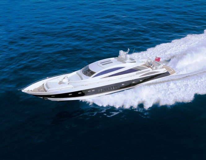 Sunseeker open yacht CASINO ROYALE