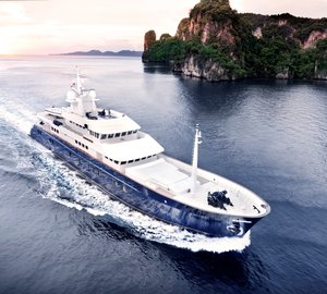 Charter expedition yacht Northern Sun in South East Asia