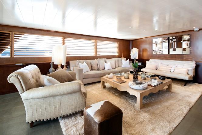Superyacht SIRAHMY - Main salon
