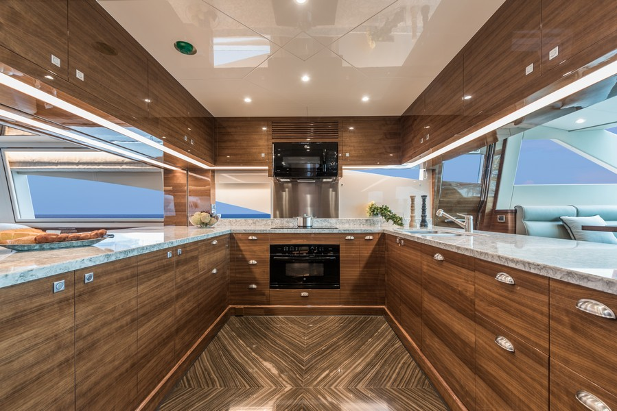 The Horizon Yacht E98 - Do It Now - galley