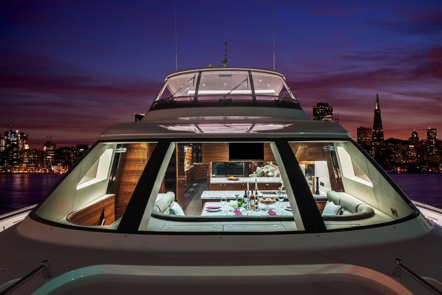 The Horizon Yacht E98 - Do It Now - night time